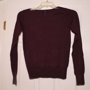 The Limited XS Plum Sweater